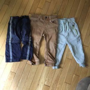 Toddler boy pants bundle